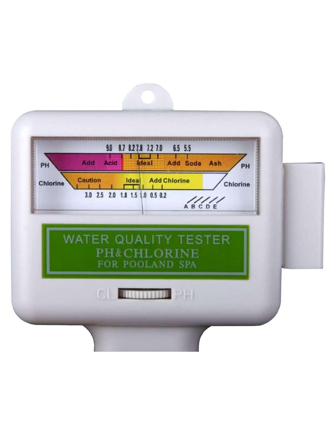 medidor de cloro cl2 y ph pc 101 para piscina spa