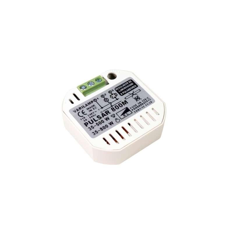 Regulador de intensidad de pastilla marca varilamp modelo pulsar p8m 500w electro inform tica xxi - Regulador de intensidad ...