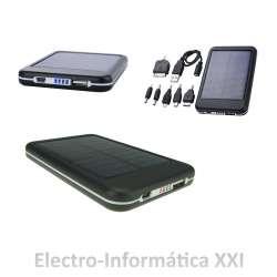 Cargador Solar 6000T Batería Solar 5000Mah para Smartphone, Tablet, iPad, iPhone