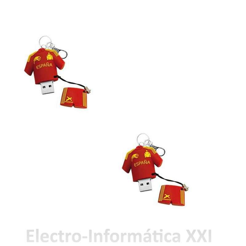 PEN DRIVE MEMORIA USB 8GB - 16 GB SELECCION ESPAÑOLA MUNDIAL BRASIL 2014