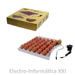 Bandeja de Volteo Automático para Huevos Grandes y Pequeños Incubadoras Pollo Perdiz Pato Palomas