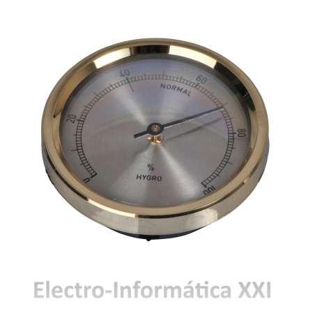 Higrómetro analógico bimetálico Ø 45mm TFA medidor humedad HB45
