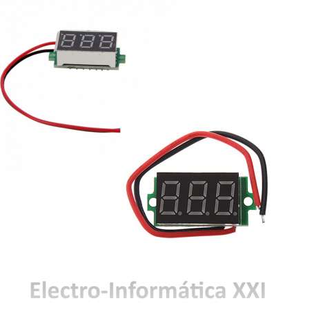 Voltimetro Digital DC 0-30V Led Azul