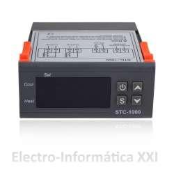 Termostato Digital con Sonda STC-1000 Controlador de Temperatura Frio y Calor