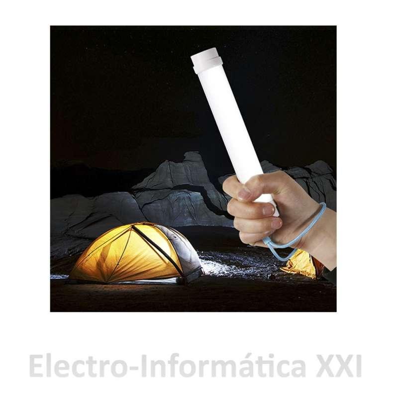 Lámpara LED Portátil UY-Q6 Linterna con Bateria1800mAh Ideal Camping