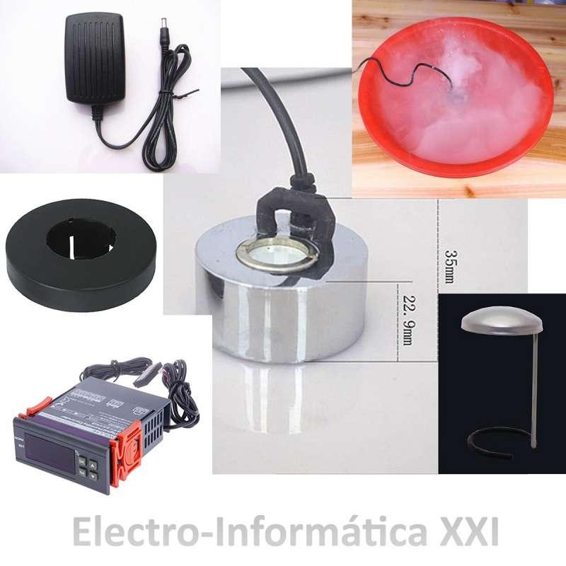 Kit control de Humedad para Incubadoras Higrostato WH8040 220V y Humidificador