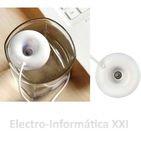 Mini Humidificador Por Ultrasonidos USB 1 membrana, Generador de Humedad