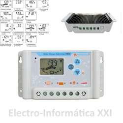 Regulador Solar Wincong SL03-30A Digital con Pantalla LCD 30A (12 / 24V)
