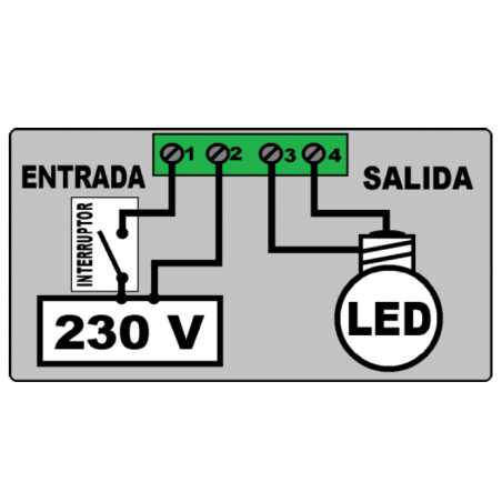 Regulador De Intensidad para Interruptor Varilamp Clic Clac Led 100W