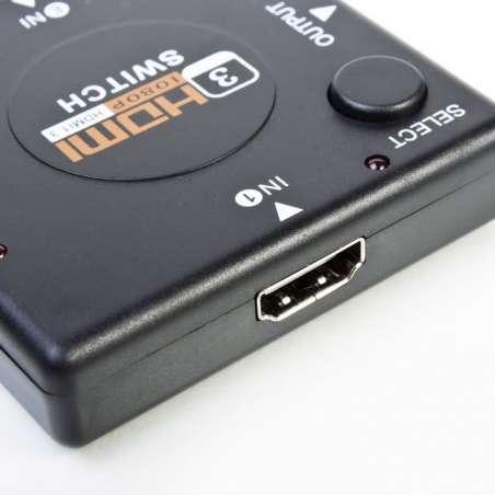 Hub Hdmi 3 Puertos 1080p