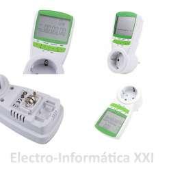 Contador Eléctrico Digital de Carril LCD Medir Consumo Eléctrico 220V 5 -32A