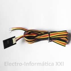 Sonda Temperatura tipo NTC Inox 4x25mm 5 mt de cable