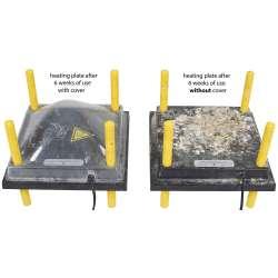 Tapa de Protección para Panel Calentador Con Regulación De Altura Para Cría De Pollos  WP-30