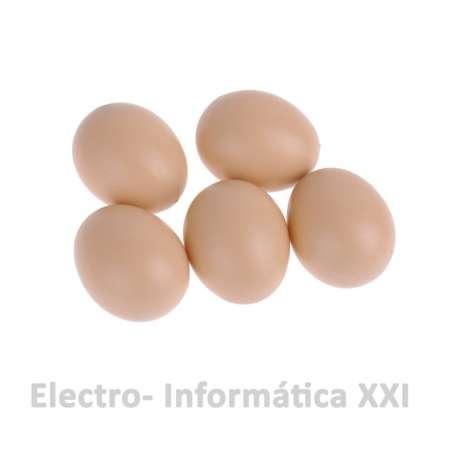 Huevo de Gallina Falso Fabricado en Plastico Incitadores de Puesta