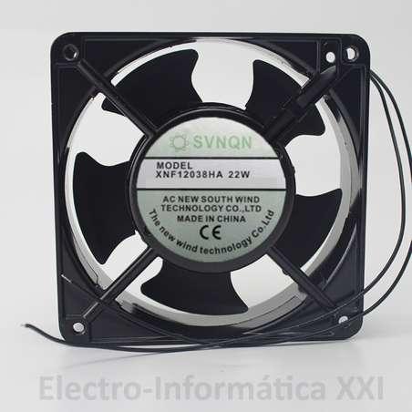 Ventilador Aluminio SVNQN 120x120x38mm 220V AC XNF12038HA