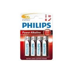 BLISTER 4 PILAS ALCALINAS PHILIPS AA LR6 1.5V