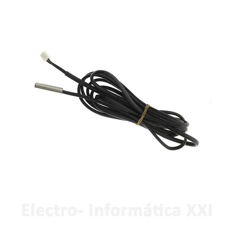 Sonda Temperatura tipo NTC Inox Repuesto Controlador XM-18 1.5mt