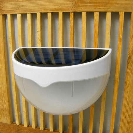 Aplique Pared Lixada Foco Solar Luz 6 Led Bateria 1000mAh Jardin Terraza
