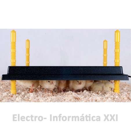 Panel Calentador Grande Con Regulación De Altura Para Cría De Pollos Calefactor Criadora WP-60