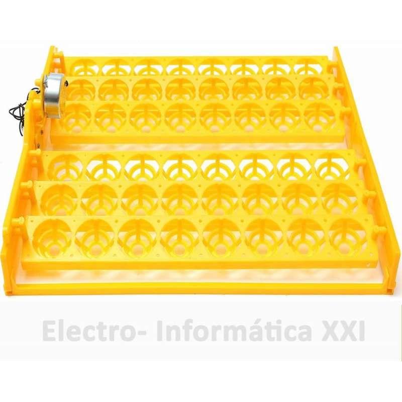 Bandeja de Volteo Automático 48 Huevos Grandes Motor Giro Lento Incubadoras