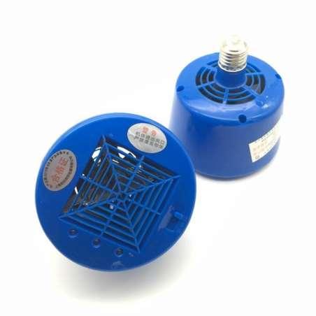 Lámpara de Calor para Cría con Termo Ventilador 3 Potencias 100, 200 y 300W