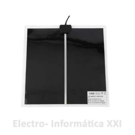 Manta Térmica 14W 28x28Cm con Regulador ideal Terrarios, Papilleros, Reptiles