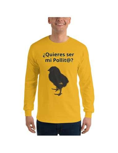 Camiseta de manga larga Quieres ser...