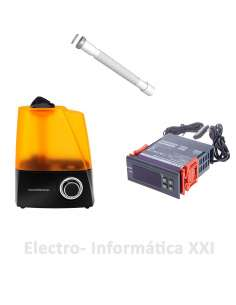 Kit control de Humedad Externo para Incubadoras Higrostato WH8040 220V y Humidificador con Deposito 6L
