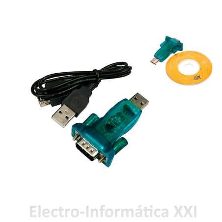 Cable Adaptador De Usb 2.0 A Rs232 - Usb 2.0 To Rs232 Serial9 Pin 9p Db9