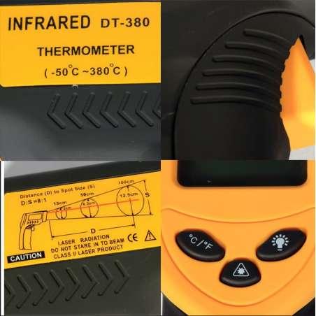 Termómetro Laser Digital Por Infrarrojos